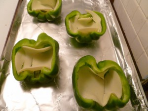 Philly Cheesesteak Stuffed Bell Peppers 001