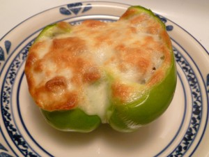 Philly Cheesesteak Stuffed Bell Peppers 003
