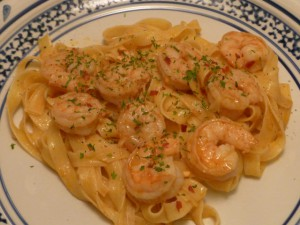 Spicy Shrimp with Garlic and Parsley