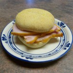 Bourbon Glazed Peameal Bacon Sandwich