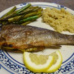 Grilled Lemon Herb Trout