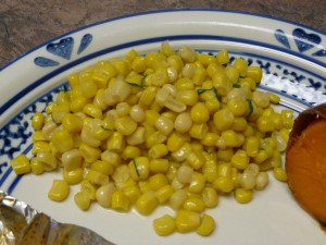 Corn with Dill